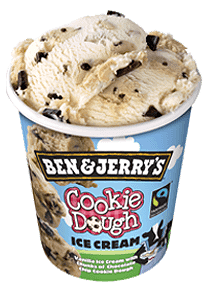 Foto Ben & Jerry's Cookie Dough 465ml
