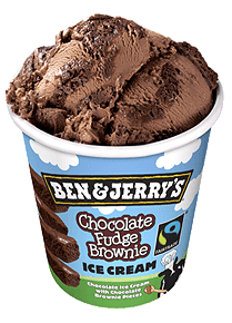 Foto Ben & Jerry's Chocolate Fudge Brownie 465ml