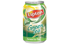 Foto Ice tea green tea blikje